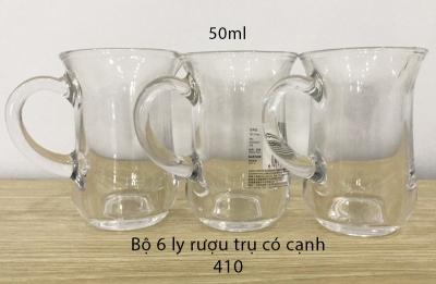 Bộ 6 ly rượu trụ có cạnh