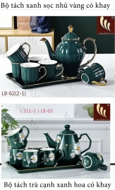 Bộ tách trà cao cấp